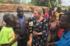 Talks with the helpers and pastors in Cuamba