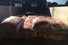 Loading 2000 kg of rice in Pemba