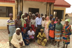 Meeting with widows