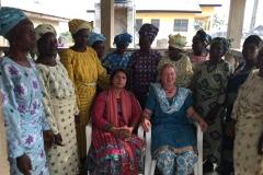 meeting widows and leaders