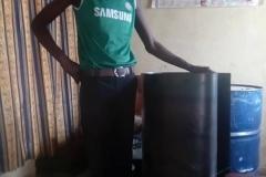 Fertigung eines Gerätes zur Holzkohleherstellung