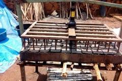 Gerät zur Holzkohleherstellung