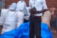 Rohmaterial zur Holzkohleherstellung
