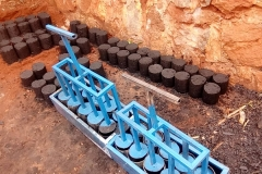 Geräte zur Holzkohleherstellung