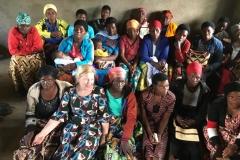Besuch einerWitwengruppe in der Westlichen Provinz von Rwanda