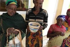 Besuch der Naome Witwengruppe nahe Kigali