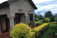 Our guesthouse in Kigali