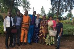 our team in Rwanda