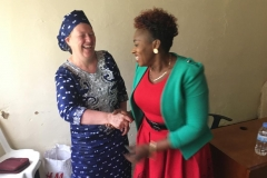 Kigali - talking to local leaders